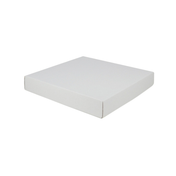 Large Square Cardboard Gift Box - White 50mm High