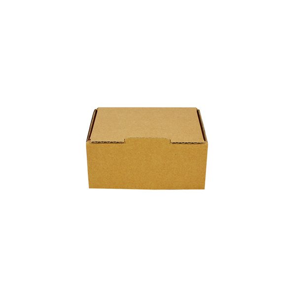 One Piece Postage Box 9557 - Kraft Brown
