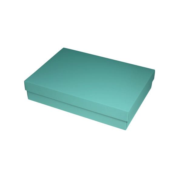 Matt Blue Slim Line A5 Gift Box