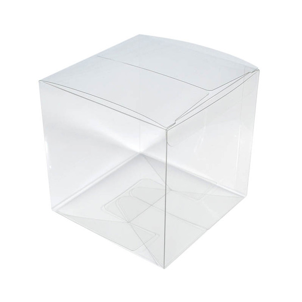 Clear Transparent Box - 60mm Cube