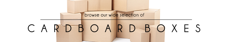 Cardboard Boxes online category page