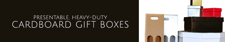 Cardboard Gift Boxes online category page