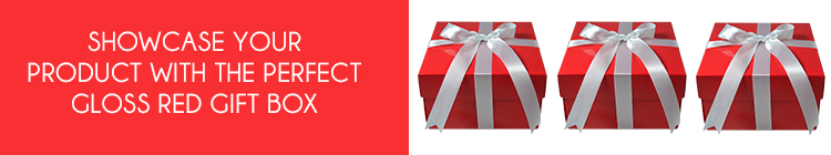 Red Gloss Gift Boxes online category page