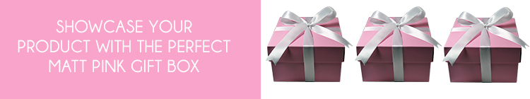Pink Matt Gift Boxes online category page