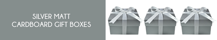 Silver Matt Gift Boxes online category page