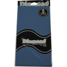 Dark Blue Tissue Paper - 500 x 750mm (5 Sheets)