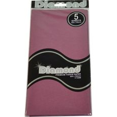 Magenta Tissue Paper - 500 x 750mm (5 Sheets) - WAS $2.35 NOW $1.20 - Discontinued