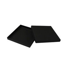Square Invitation Box - Jet Black