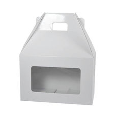 Carry Pack Small with Window - White Gloss
