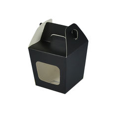 Party Boxes with Window Corf 1 - Black Matt