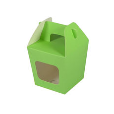 Party Boxes with Window Corf 1 - Green Matt