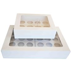 12 & 24 Cupcake Box Sample Pack (Limited to 1 per customer)