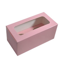 2 Cupcake Box - Gloss Soft Pink