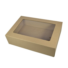 Gourmet Display Large - Kraft Brown