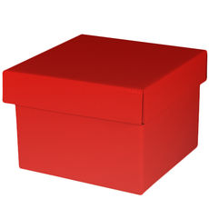 Large Gift Box - Gloss Red
