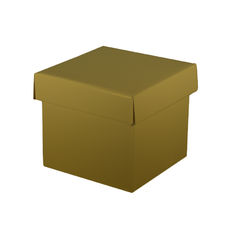 Mini Gift Box - Gloss Gold