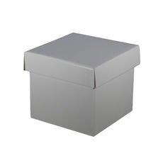 Mini Gift Box - Gloss Silver