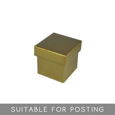 Tiny Gift Box - Gloss Gold