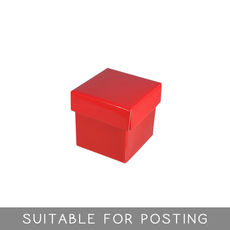 Tiny Gift Box - Gloss Red