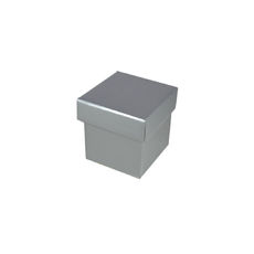 Tiny Gift Box - Gloss Silver
