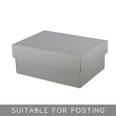 Goblet Box - Gloss Silver