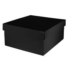 Large Hamper Box - Gloss Black