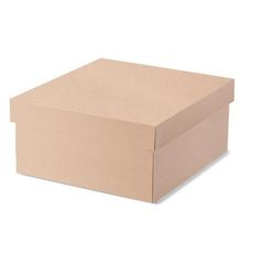 (TEMP OUT OF STOCK MID NOVEMBER) Large Hamper Box - Kraft Brown