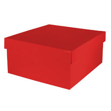 Large Hamper Box - Gloss Red