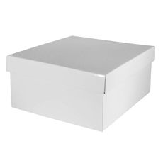 Large Hamper Box - Gloss White