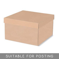 Extra Large Hamper Box - Kraft Brown