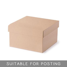 Small Hamper Box - Kraft Brown