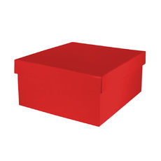 Small Hamper Box - Gloss Red