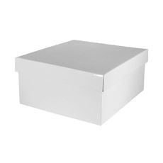 Small Hamper Box - Gloss White (Temp. Out Of Stock til mid April)