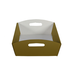 Large Hamper Tray - Gloss Gold
