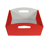 Medium Hamper Tray - Gloss Red