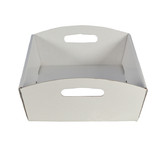 Medium Hamper Tray - Gloss White