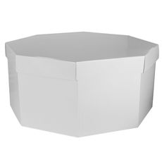 Large Hat Box - Gloss White