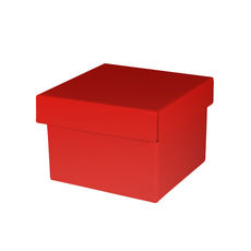 Medium Gift Box - Gloss Red