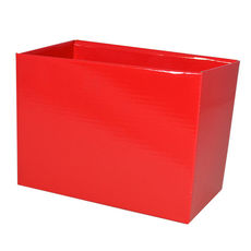 Large Rectangle Box - No Lid - Red Gloss