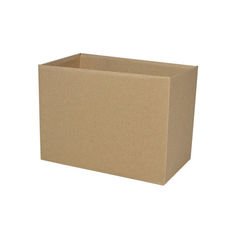 Small Rectangle Box - No Lid - Kraft Brown