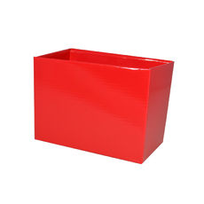 Small Rectangle Box - No Lid - Red Gloss
