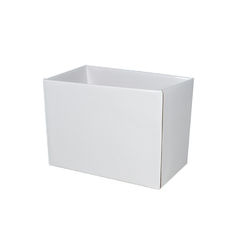 Small Rectangle Box - No Lid - White Gloss
