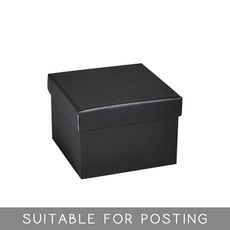 Large Rigid Box - Matt Black
