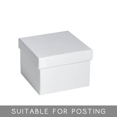 Large Rigid Box - Matt White