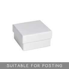 Small Rigid Box - Matt White