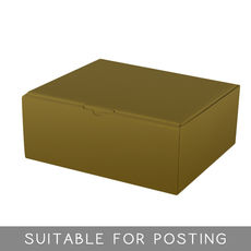 CLEARANCE Small Shipper Box (Only 50 Left) - Gloss Gold