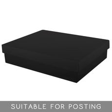 Large Shirt Box - Gloss Black