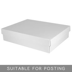 Large Shirt Box - Gloss White