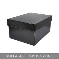Small Shirt Box Deep - Black