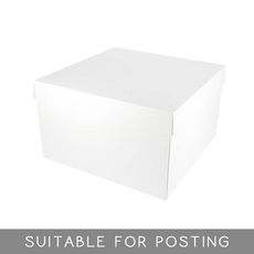 Small Shirt Box Deep - White